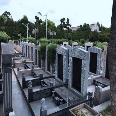 天长公墓传统墓